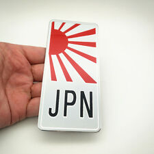 Japan Aluminum Sticker for Car Badge Honda Mazda Subaru Nissan Suzuki Toyota CBR