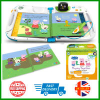 LeapFrog Leapstart Nursery Peppa Pig Story Book 3D Enhanced And Activity Toy New