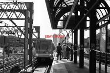PHOTO  1990 TOWER GATEWAY RAILWAY STATION DOCKLANDS LIGHT RAILWAY WHEN THE DOCKL