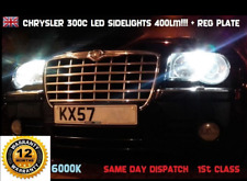 Chrysler 300 C LED Kit T10 W5W 501 Larga Vida Luz Lateral 150 LM!!! + Reg Placa 6000k