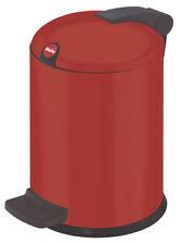 Hailo design S Abfallsammler Rot Stahlblech 1,0 kg