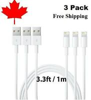 1M 3ft 8Pin USB Charger Charging cable for iPhone 5 6 7 8 plus x Xs Xr XsMax 11