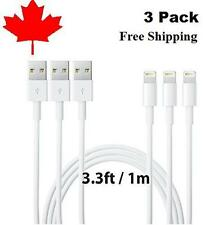 1M 3ft 8Pin USB Charger Charging cable for iPhone 5 5S 6 6S plus 7 7plus 8 8plus