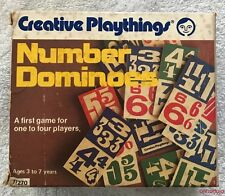 Creative Playthings Number Dominoes 77270 Hardwood Pieces Non Toxic New in Box