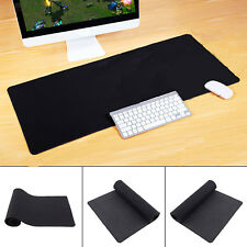 Extended Gaming Large Mouse Pad XXL 900x300mm Big Size Desk Mat Black Anti-Slip