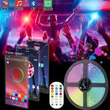 100 ft USB Bluetooth LED Strip Light 5050 SMD Flexible LED Lamp Tape RGB Lights