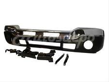 Bundle for 03-07 Sierra 1500 2500 3500 Front Bumper Chrome Bar Valance W/Bracket