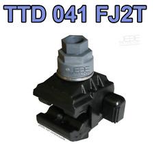 Connecteur BT de dérivation 35-10 à perforation d'isolant TTD 041 FJ2T