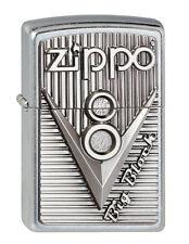 Zippo Mechero V8 Emblema, Colección 2013 Nº 2003248, Zippo V 8 Street Cromo
