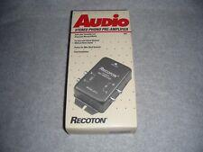 Recoton Audio 1993 Stereo Phono Pre-Amp Pre Amplifier model# SP2 (new) Free Ship