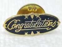 Vintage Ford Blue and Gold Metal Congratulations Pin
