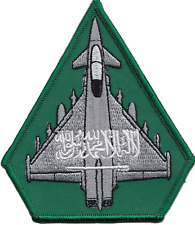 Royal Saudi Arabia Air Force RSAF Typhoon Embroidered Patch ** LAST FEW **
