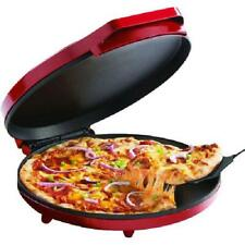 """Betty Crocker 12"""" Pizza Maker - Red BC-2958CR Nonstick Easy Fast Fun Energy Save"""