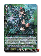 Cardfight Vanguard  x 4 Black-spotted Flash Gun, Papilrae - G-RC01/049EN - R Min