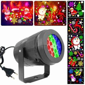 Landscape Christmas Lights Christmas Decor Holiday Lighting Projector Lamp