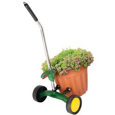 Wheeled Easy Use Heavy Outdoor Garden Plant Pot Grabber Arm Steel Trolley Mover