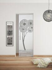 "Glass Single sliding Pocket Door System  full set  design ""TREE TWO"" 640 mm"