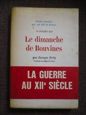 Georges Duby, Le dimanche de Bouvines (27 juillet 1214)