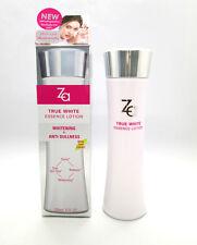 ZA True White Essence Lotion 3 in 1 Skin Brightening Whitening Anti Dullness NEW