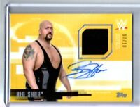 WWE Big Show 2017 Topps Undisputed Gold Autograph Relic Card SN 7 of 10
