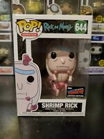 Funko Pop! Rick and Morty Shrimp Rick #644 Official 2019 NYCC WITH PROTECTOR!