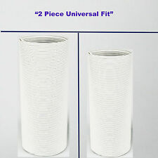"""2 pack Exhaust Hose / Tube for Portable Air Conditioner 5 to 5.5"""" D 55"""" L"""