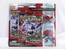 Pokemon Breakthrough Zoroark 3-Pack Blister with Pin