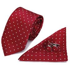 Retro Men Necktie Neck Tie Floral Paisley Flower Rose cufflinks hanky Set WH3