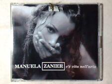 MANUELA ZANIER C'e' vita nell'aria cd singolo GATTO PANCERI X FACTOR