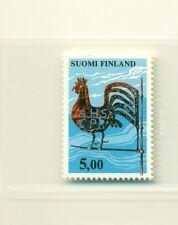 Gallo-Cock Finland 1977 common stamp