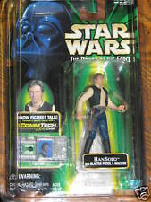 Han Solo w/commtech chip (Power of the Force) **Unopened in Clam Shell**