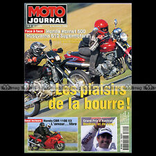 MOTO JOURNAL N°1344 HUSQVARNA 610 SUPERMOTARD, HONDA 600 HORNET CBR 1100 XX 1998