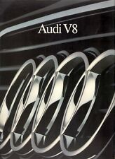 Audi V8 3.6 1989-90 Dutch Market Sales Brochure Portfolio