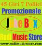 45 Promo Juke Box Elio e storie tese Bruce Springsteen
