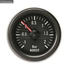 Universal 52mm Barra Turbo Indicador Boost Barra Calibración del sensor