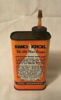 Vintage Advertising Tin KANO KROIL OIL TIN Nashville Tennessee
