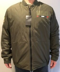 Cleveland Browns Nike Salute to Service Reversible On-Field Jacket! M L XL XXL