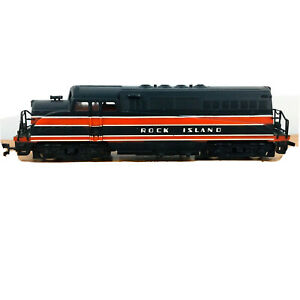 Vintage American Limited Locomotive Engine Rock Island Train ALM Tempo A13