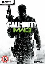 Call of Duty: Modern Warfare 3 III (PC-DVD) BRAND NEW SEALED