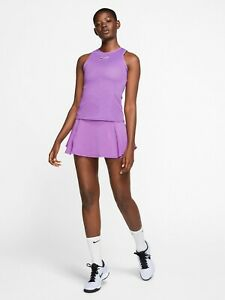 Nike Women's Tennis Tank Yellow CJ1151-532