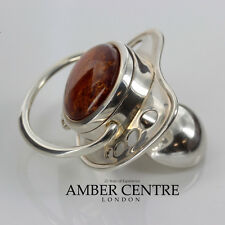 German Mother's Treasure Box/Dummy 925 Silver Baltic Amber CAR0109 RRP£395!!!