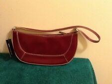 XOXO Dark Red Vinyl Small Handbag Purse NEW!  NWT
