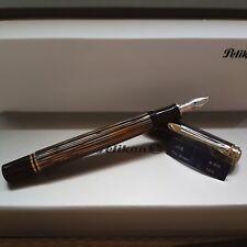 Pelikan M400 Brown Tortoise Fountain Pen 2016 Special Edition (IB nib)
