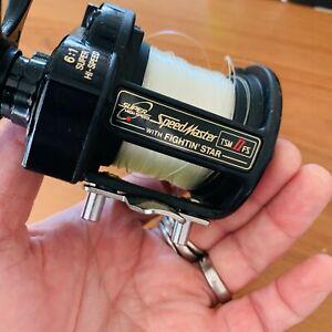 Shimano Speedmaster TSM II FS Fishing Reel - GOOD CONDITION WITH BOX AND LINE