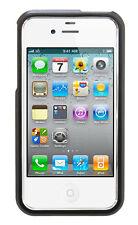 Housse de protection Hard Case Aluminium Cover XQISIT pour Apple iPhone 4/4 S noir