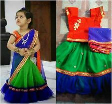 Beautiful designer  stitched lehenga for kids..!!Age group 0 to 3years.....!!!!!