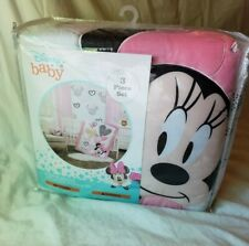 Minnie Mouse: Hearts 3-Pc Crib Bedding Set by Disney Baby