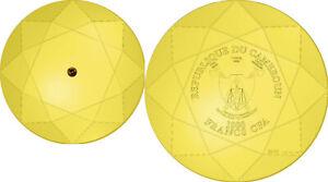 1000 Francs Kamerun 2019 - 1 OZ Golden Diamond 2019