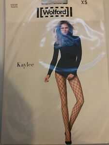 Wolford Kaylee Net Tights  SIZE: Extra Small Color: Black   19172 - 06  $61