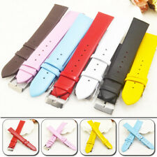 16 20 mm Wrist Strap PU Leather Replacement Waist Watch Band Fashion Women